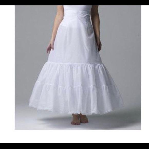 Davids Bridal Dresses Davids Bridal Aline 2 Tier Slip Plus Size